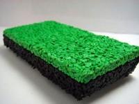 Плитка изрезиновой крошки «Кирпич», 110×240×45мм